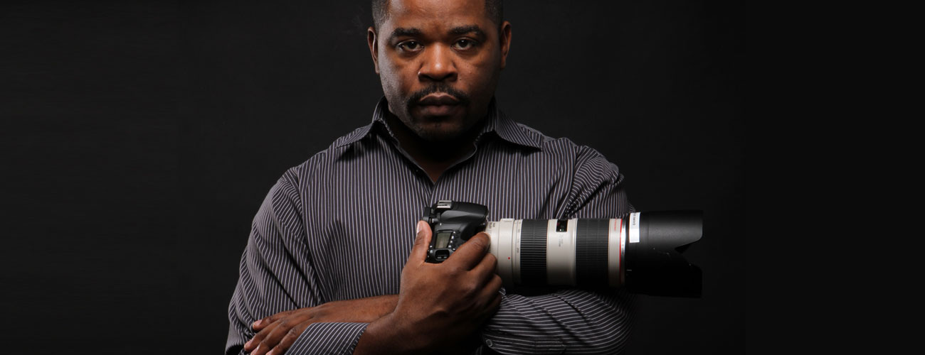 Photo of fashion photographer Shawn Brooks