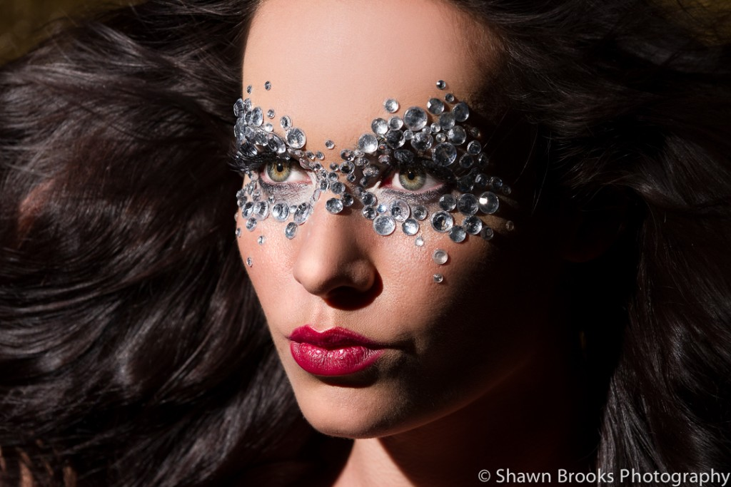 Fashion photography photo of model by Shawn Brooks